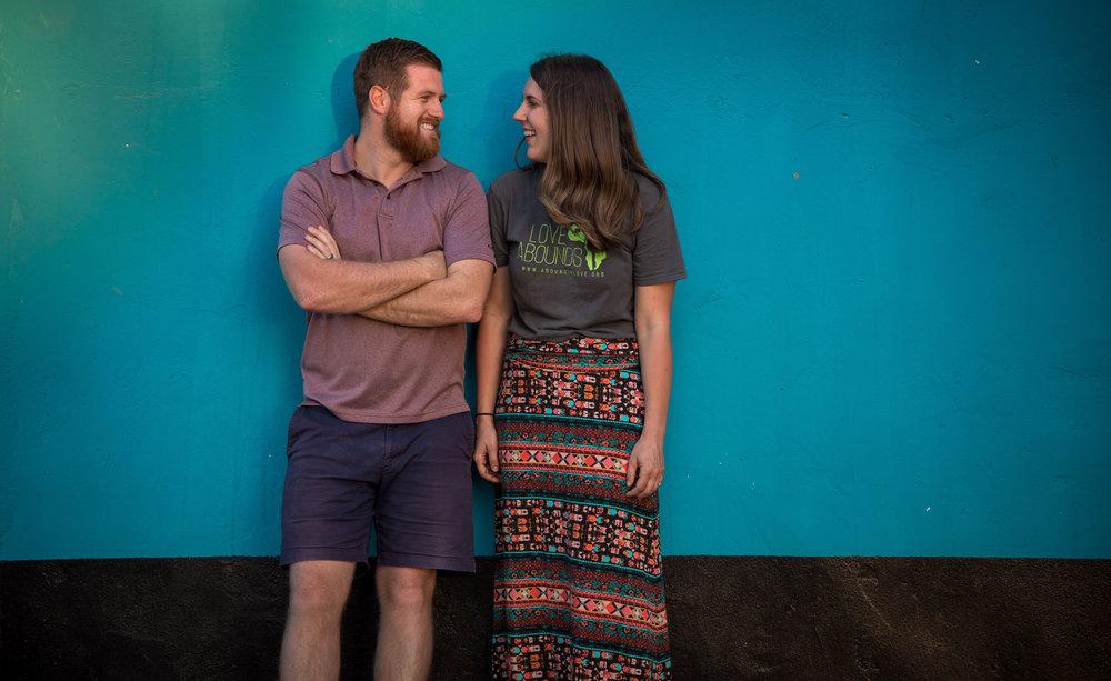 David and Bethany Morgan.