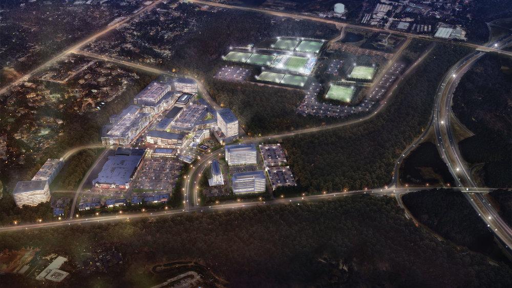 The new Fenton development.