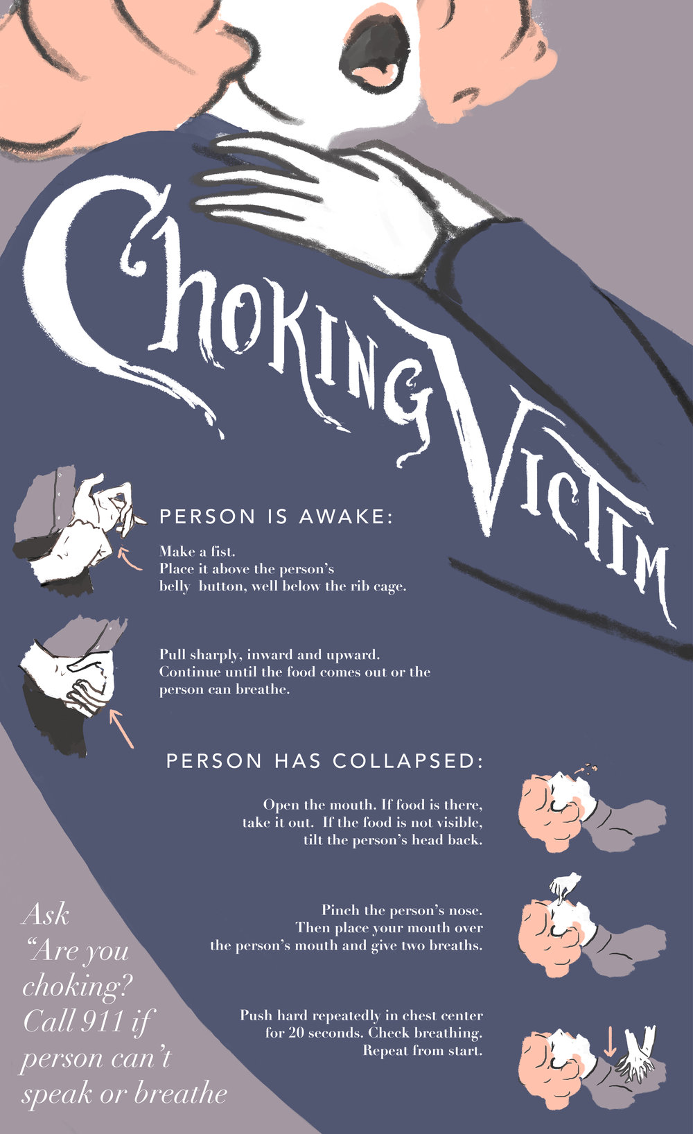 Choking Victim Poster