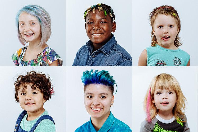 Gender Creative Hair Raising Zoomer