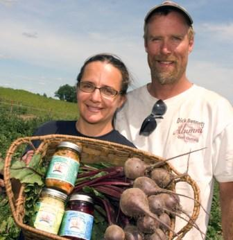 Angelica and Mike Hollstadt of Angelica's Garden