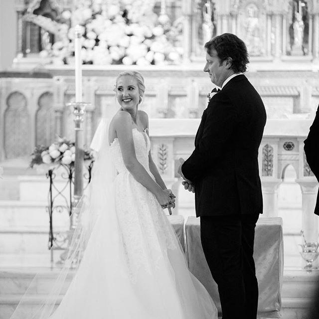 Blushing Bride • Photo @brocatophotography • #clarkandkelly #weddingplanner #nolaweddingplanner #latrobes #latrobesonroyal #frenchquarterwedding #southernwedding #classicbride