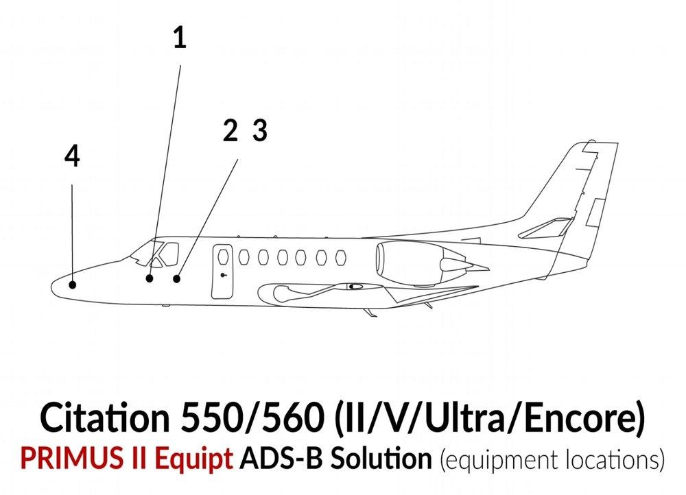 Citation 550/560
