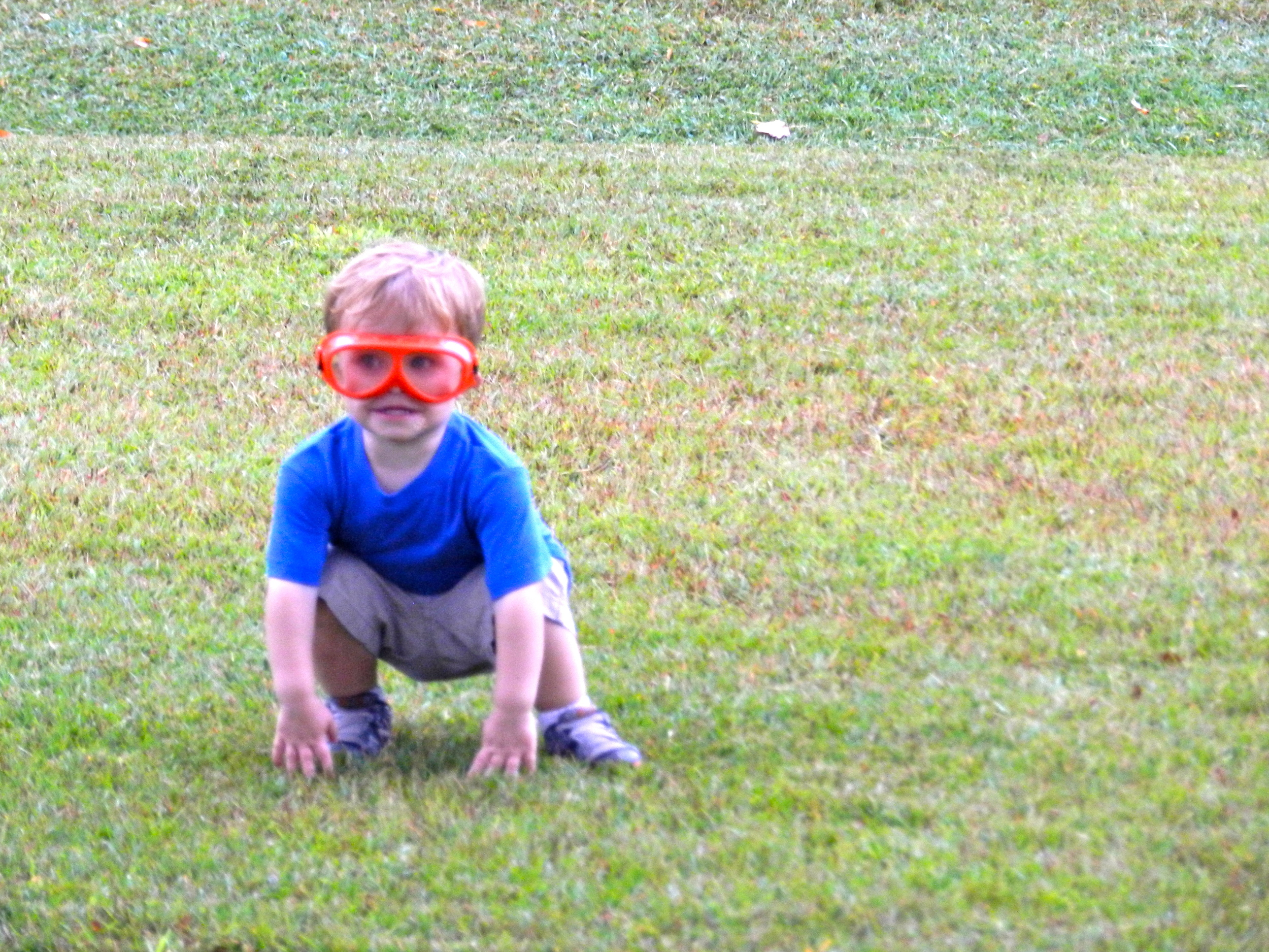 what birthday boy doesn't want new safety glasses!