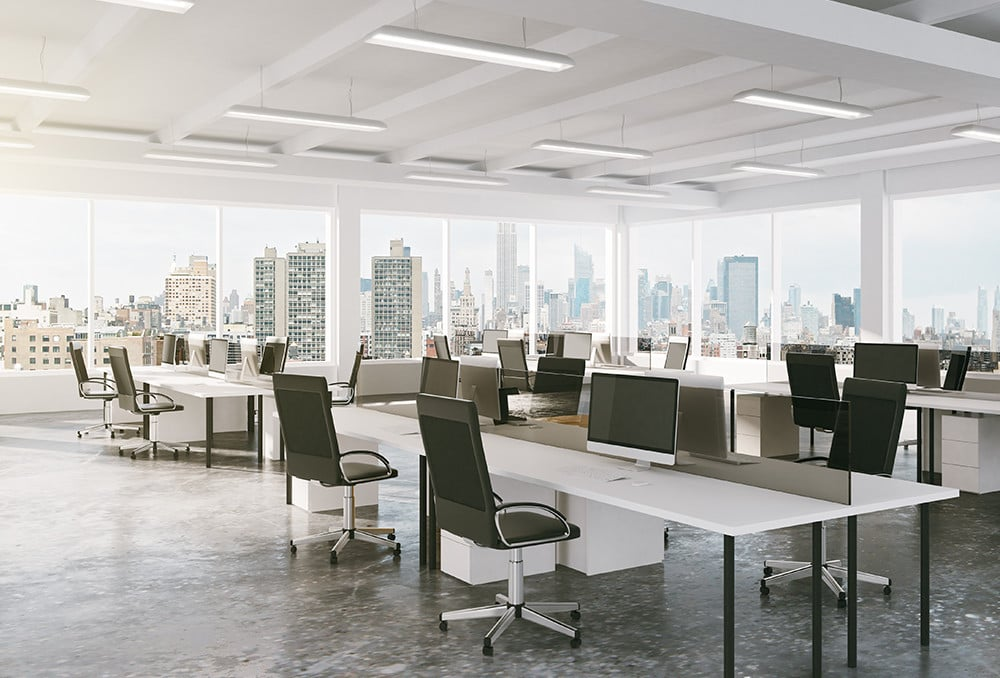 Increased productivity by redirecting natural light as much as 40 feet or more into the building.