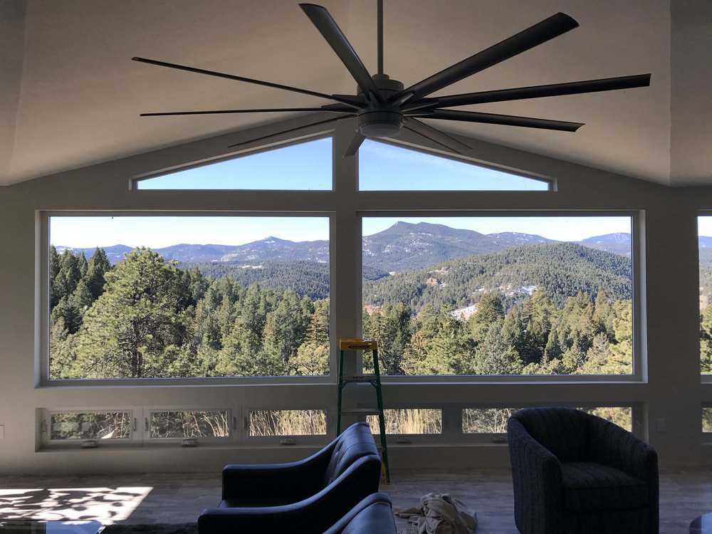 Interior view of 3M Prestige 60 applied to Morrison, CO home.