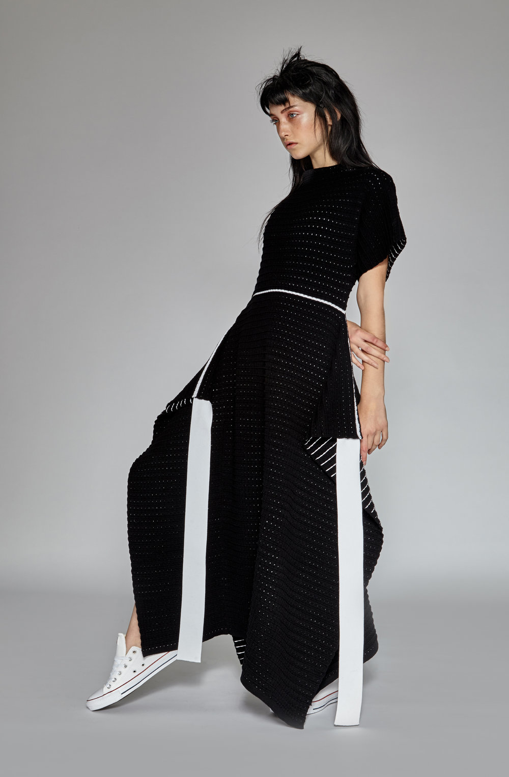 Knit Dress by Anita Szu-Yi Chen, MFA Knitwear Design.