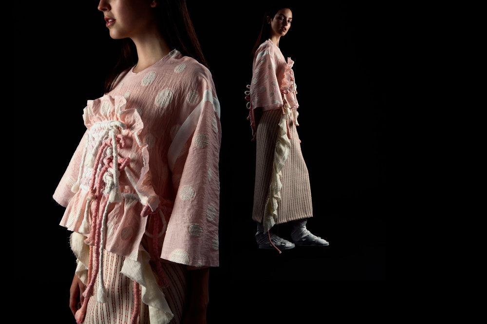 Jelly Shan, MFA Fashion Design.