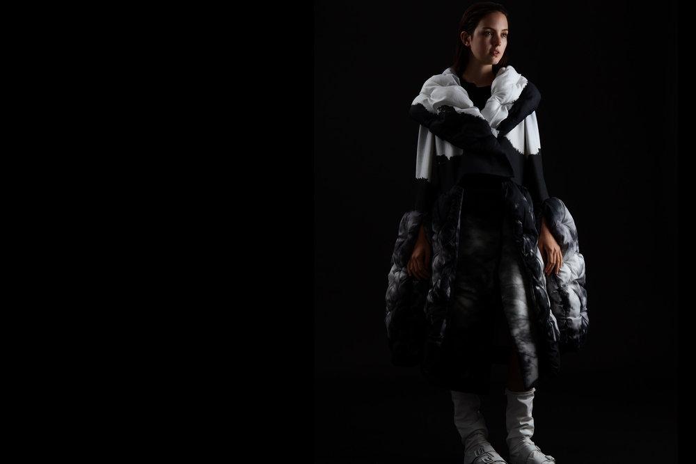 Saya Shen, MFA Fashion Design.