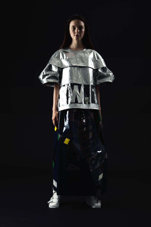 Hailun Zhou, MFA Fashion Design.