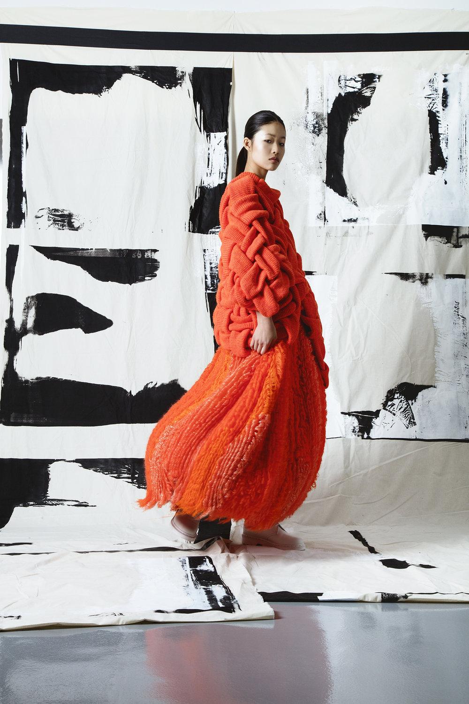 Vivid Yunan Ma, MFA Knitwear Design.