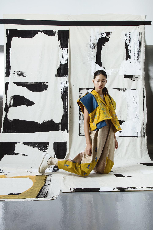 Zibo Wang, MFA Fashion Design.