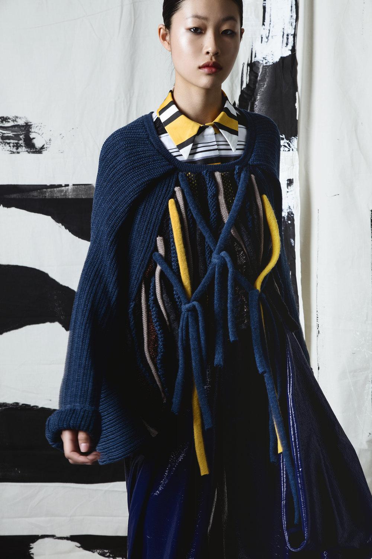 Lusha Wang, MFA Fashion Design.
