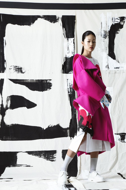 Jessica (Ching Chi) Lai, MFA Fashion Design.