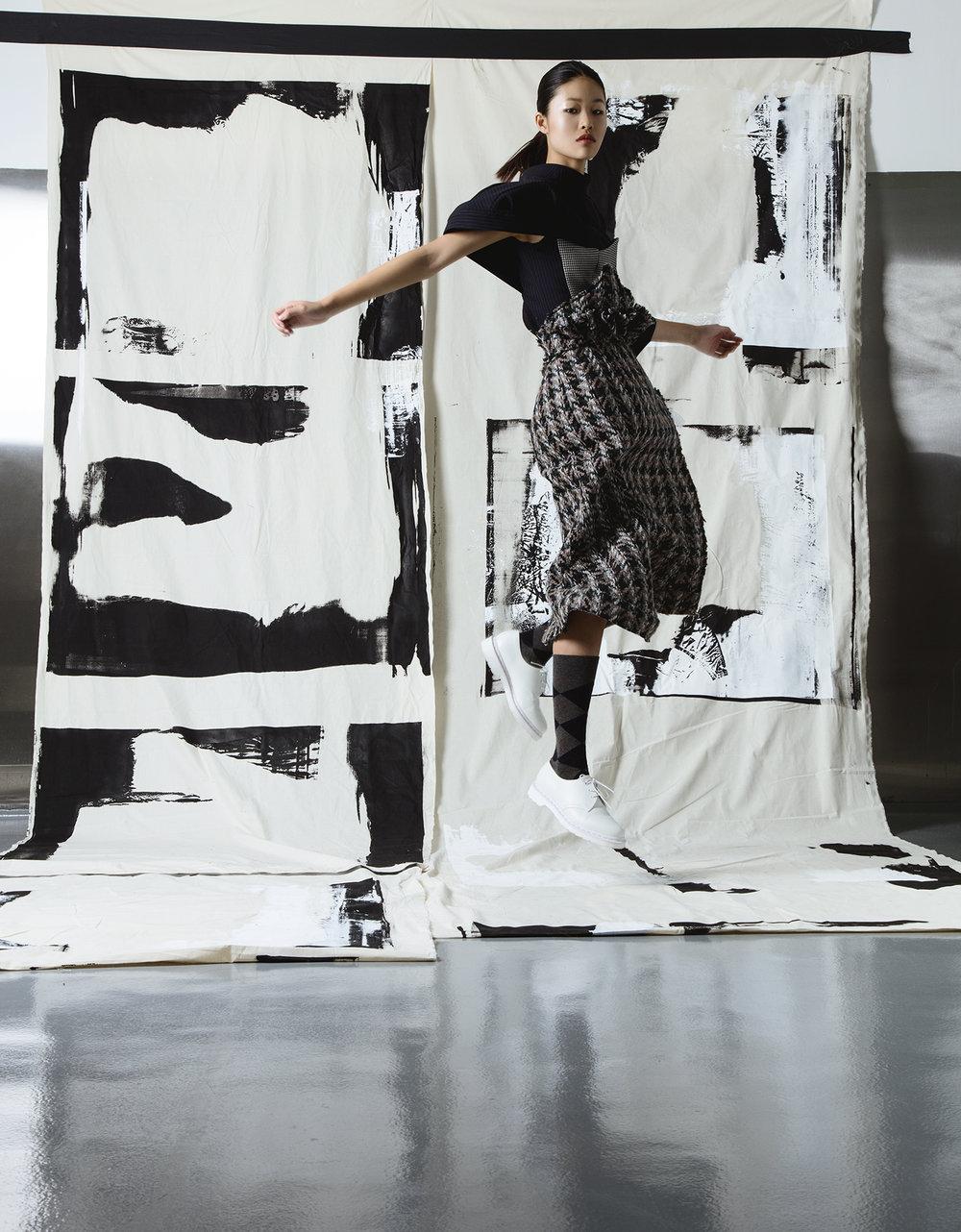 Yoonsuk Lee, MFA Fashion Design.
