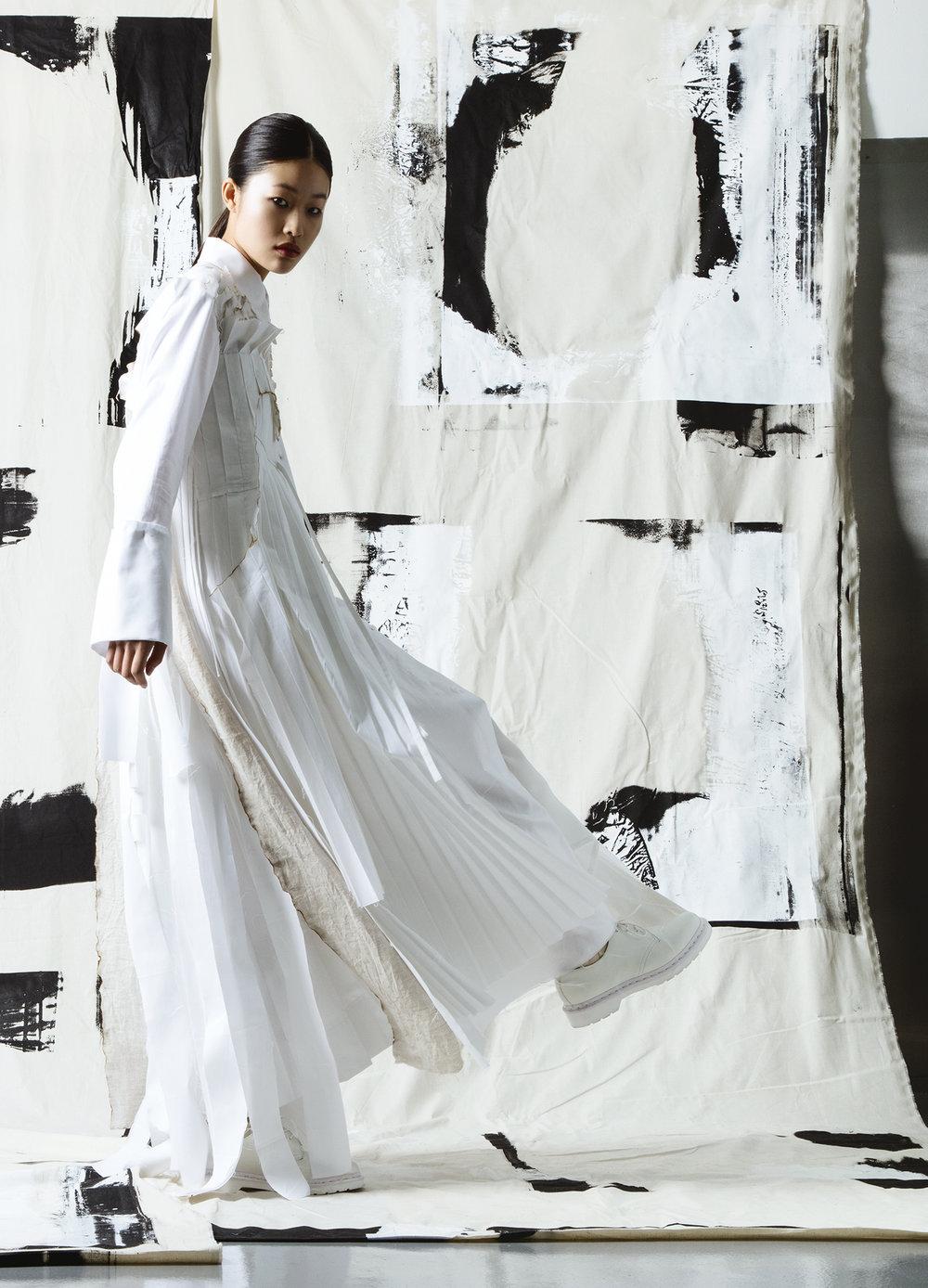 Zhihan Liu, MFA Fashion Design.
