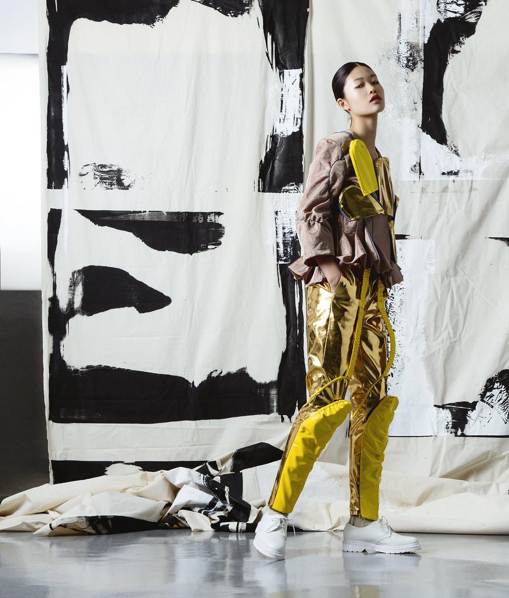 Justing Kong Jiang, MFA Fashion Design.