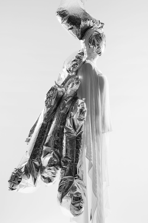 Garment by Maikhanh Nguyen, MFA Knitwear Design.