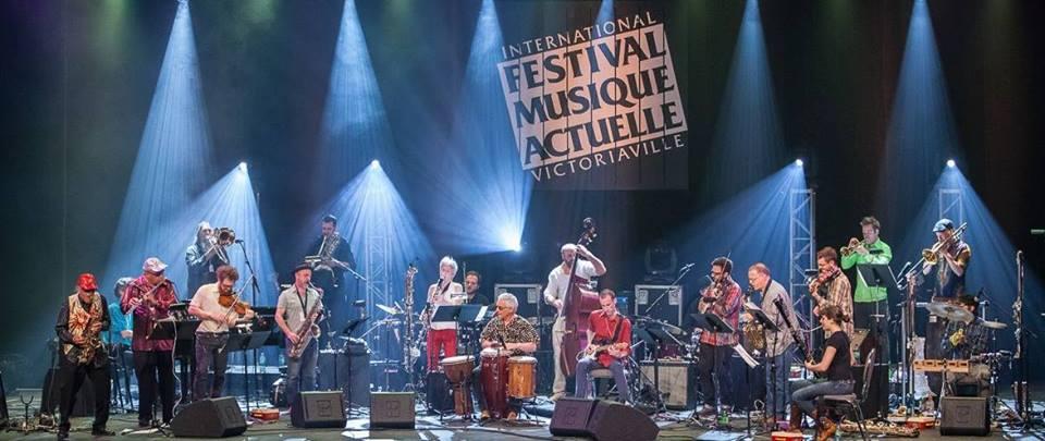 Ratchet Orchestra avec Marshall Allen au FIMAV, Mai 2014. Photo par Martin Morissette