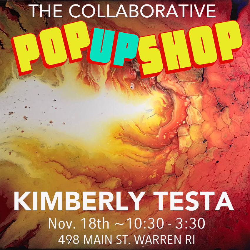 Kimberly Testa - Trained as a fine artist, decorative painter, and painting contractor, Kimberly's passion for painting is now being expressed in the genre of fluid acrylic painting.