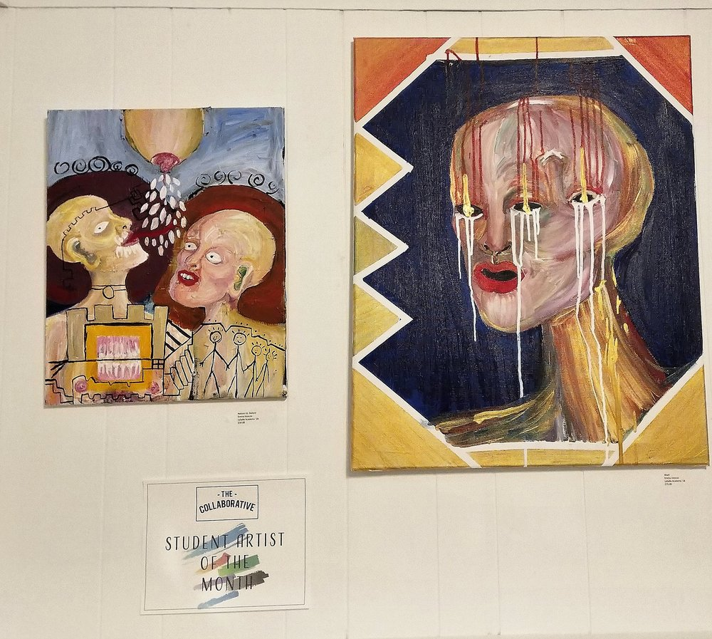 Student Artist of the Month -