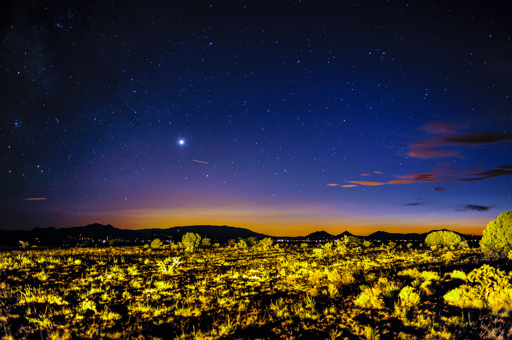 Desert Sky, Santa Fe, NM