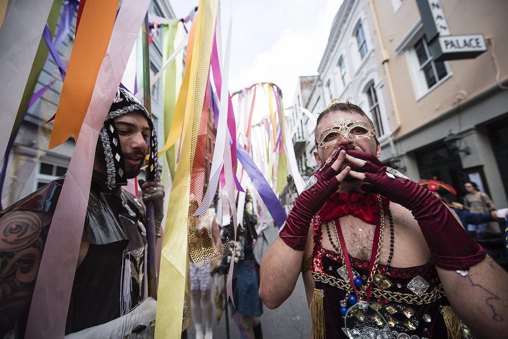 Mardi Gras Marriage
