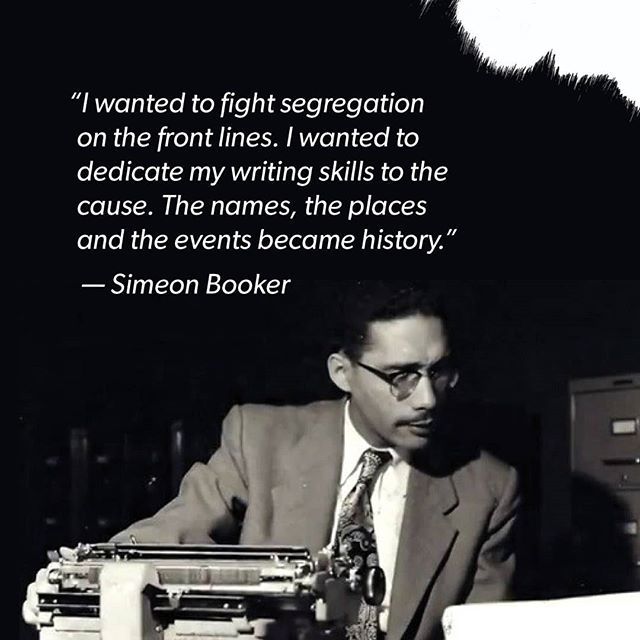 Simeon Booker, born in 1918, passed away December 10th. He's an award-winning journalist known for his journalistic works during the civil rights movement and for his coverage of the 1955 murder of 14-year-old Emmett Till. He worked on The Washington Post, Jet, and Ebony publications.