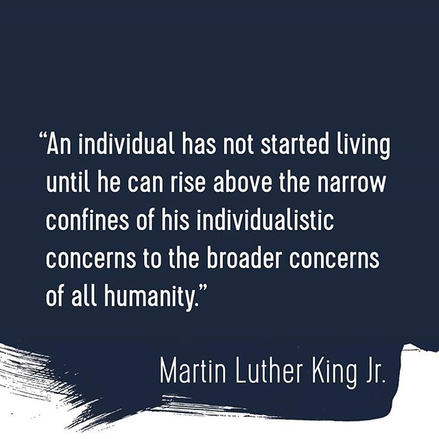 A quote from Dr. Martin Luther King Jr. #designyourworld #equal_by_design @equal_by_design