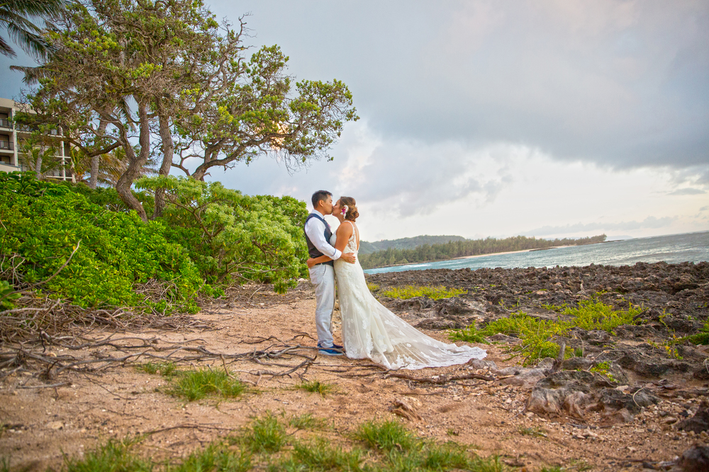 Location:   Turtle Bay Resort   New Featured Weddings:   biancaphotographyhawaii