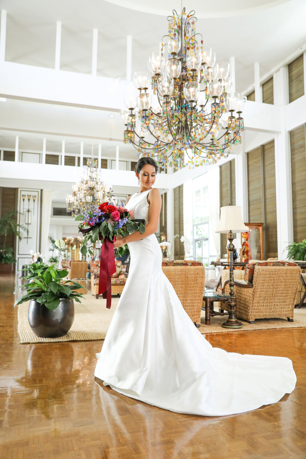Florals:   Florist Grand   Location:  The Kahala Hotel & Resort   New Featured Weddings:   biancaphotographyhawaii