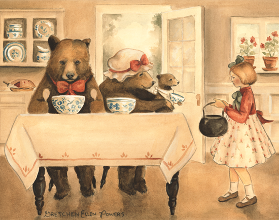 Goldilocks and the Three Bears by Gretchen Ellen Powers