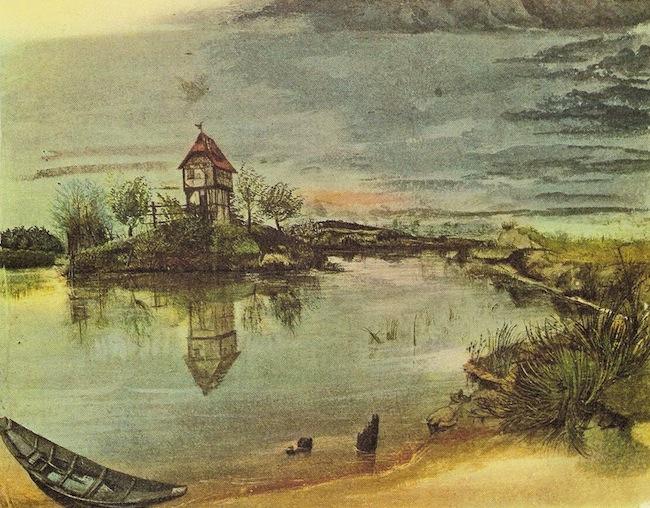 House By A Pond(1497) by Albrecht Dürer (source)