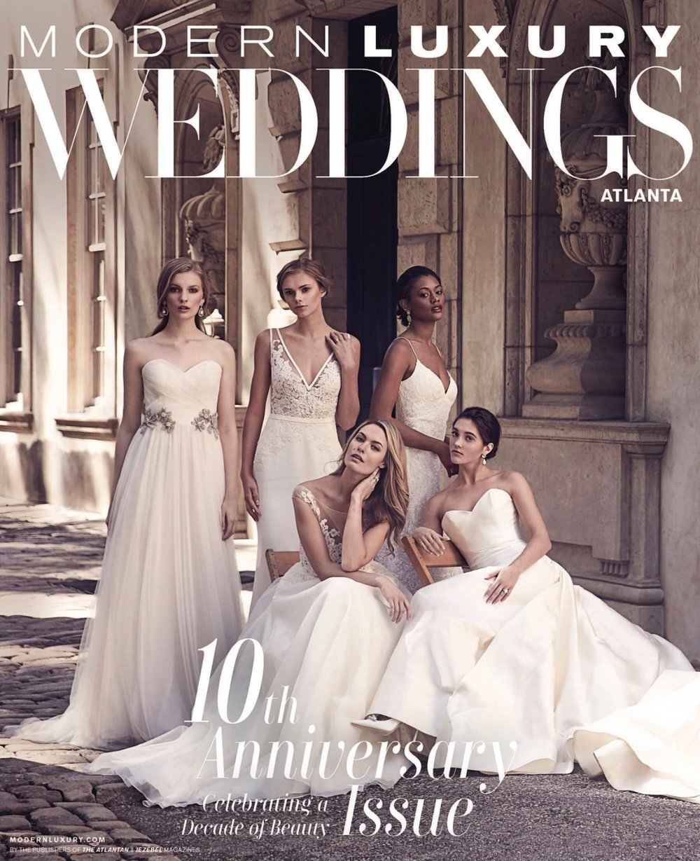 Messieurs Swank Featured as Top 10 Entertainment Company for Modern Luxury Weddings Atlanta 10th Anniversary Edition -