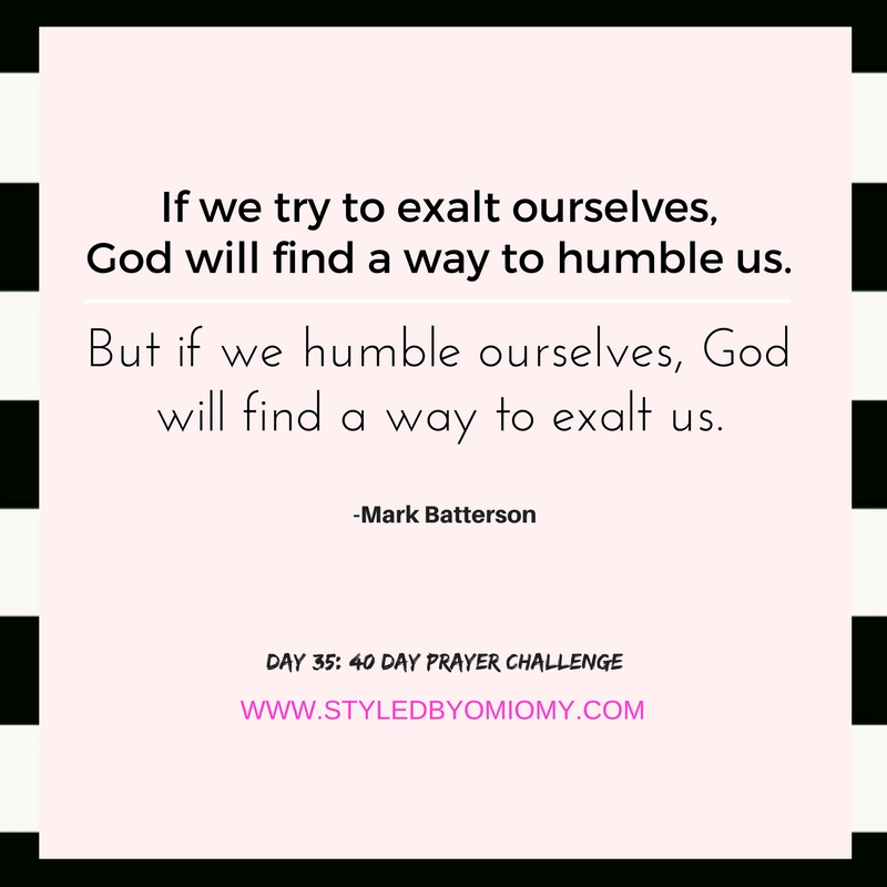 The 40 day prayer challenge check in styled by omi omy day 35 the longest lever stopboris Images