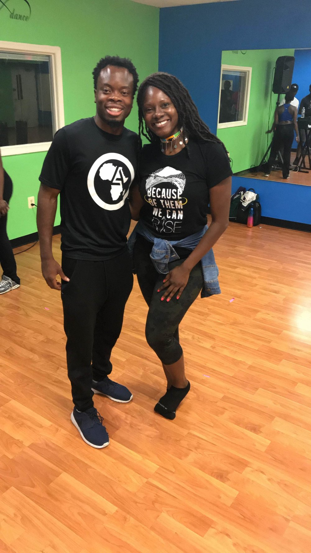 July 2018: My sister and I attending an  #Afrobeats  dance class with  #LiftAfrica .  #Epic   #GreatTimes   #OurHypeManWasOnPoint  😂 Definitely incorporating more dancing in 2019.