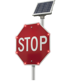 Solar Stop Sign