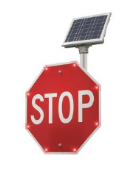 SOLAR LEd flashing SIGNS