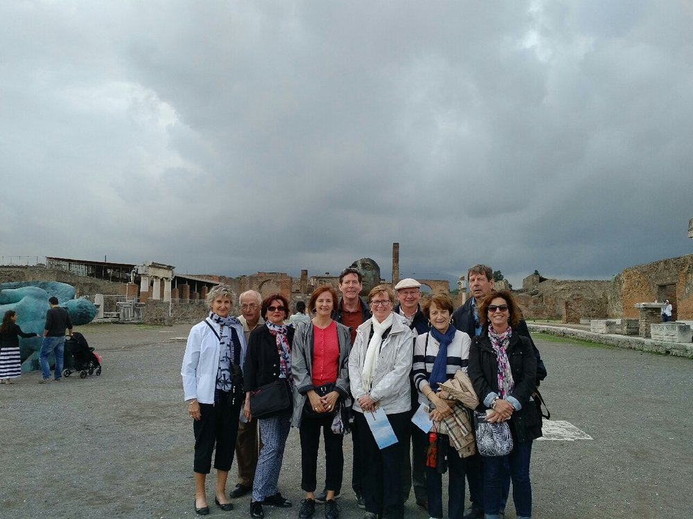 Pompei group photo