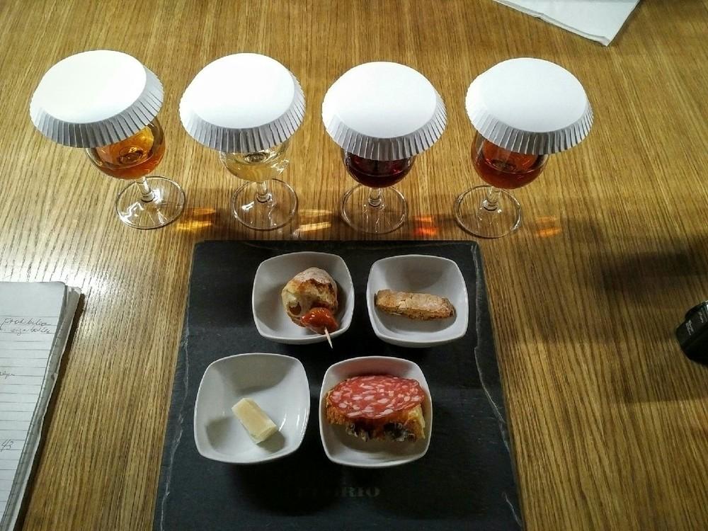 Degustazione Marsala DOC Florio, Terre Arse, Grillo, Catarratto