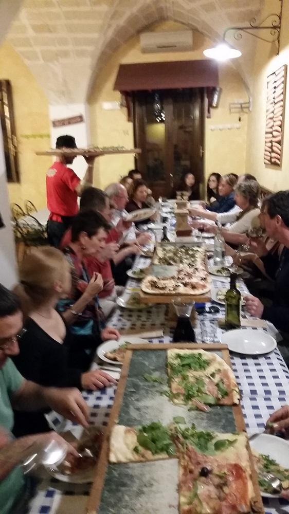 Pizza by the meter, Lecce, Puglia