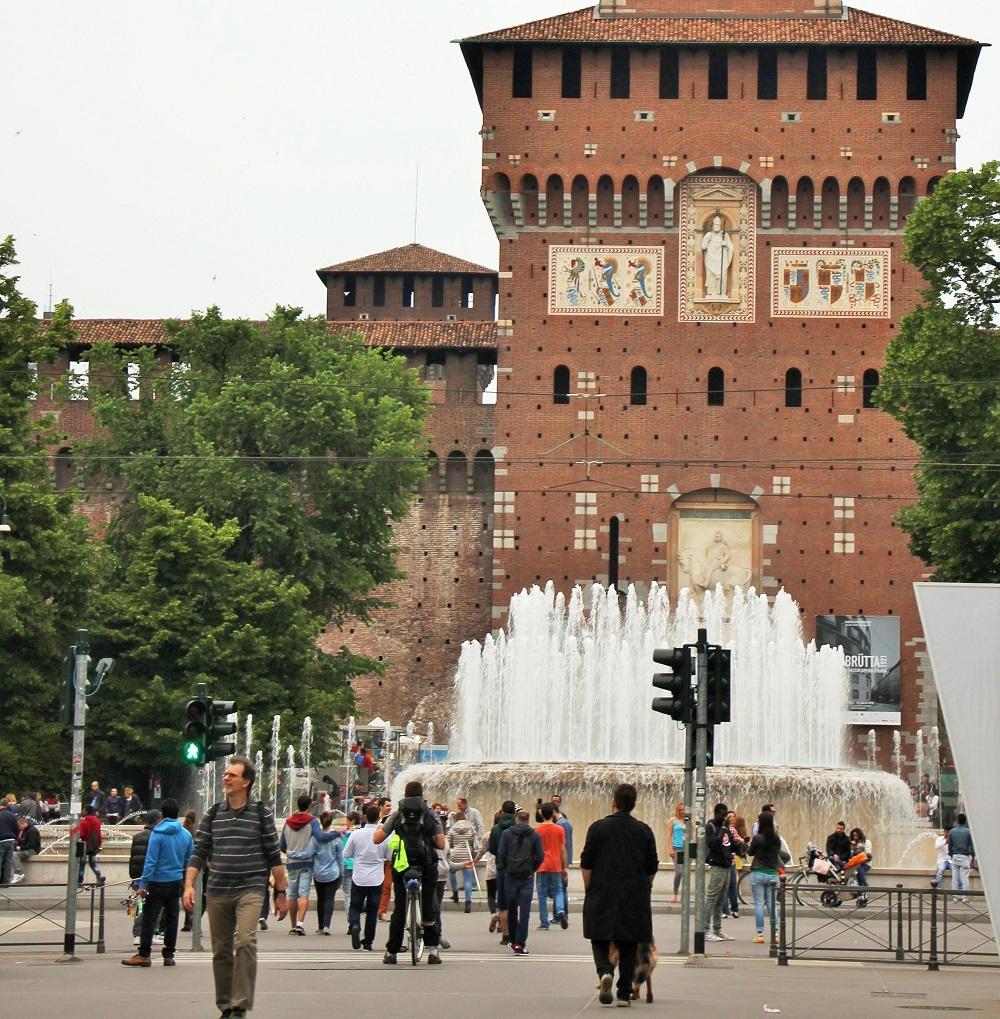 Parco Sempione and Castello Sforzesco