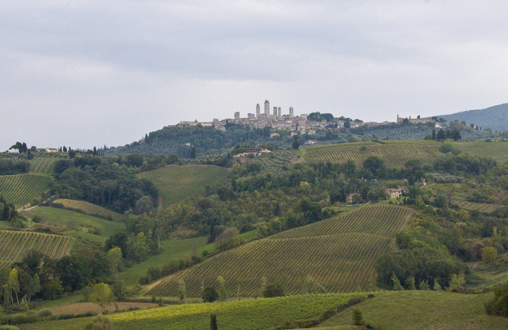 San Gimignano 7 Towers Tuscan Vineyards.jpg