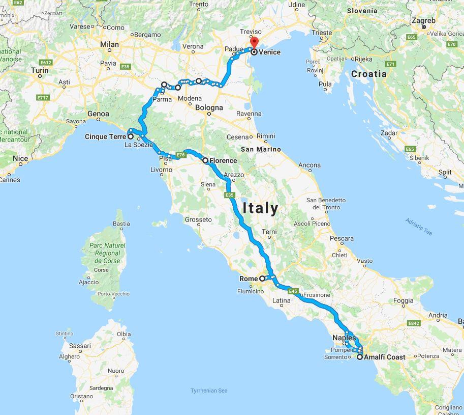 Rome-Amalfi-Florence-CinqueTerre-Venice MAP.JPG