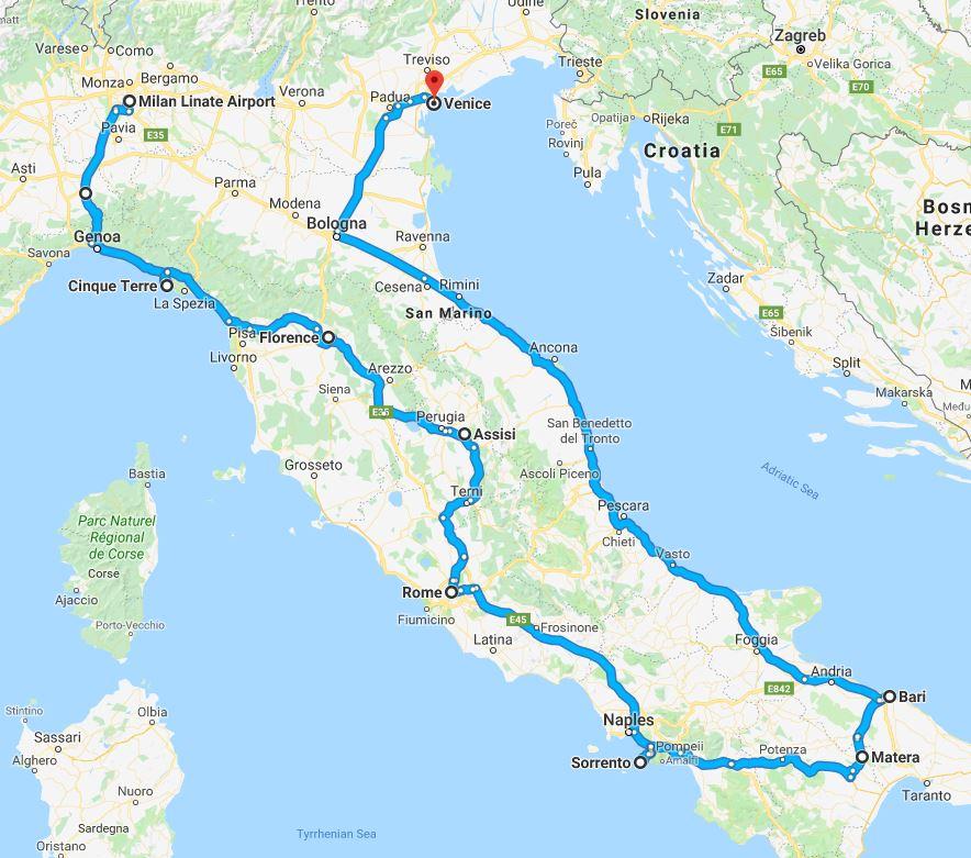 A Taste of Italy MAP.JPG