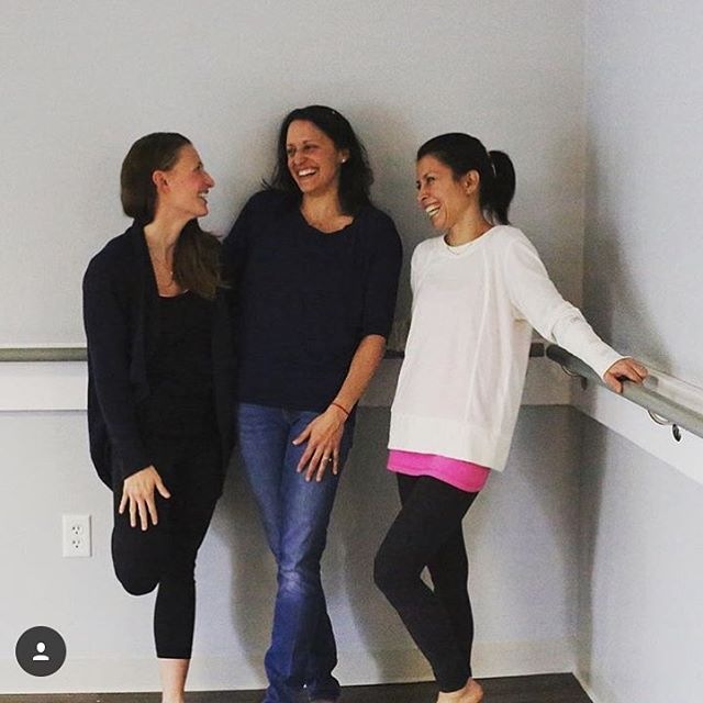 "Regram from co-founder Jillian: ""I set the intention this year to ""connect more"". I like to set broad intentions so they can come about how they should...and so I'm more likely to feel successful 😋. Couldn't think of a better place to connect than at @lexpoweryoga with my best influences @shedoudi and Yolanda."" Loving your outlook @jillmcdono !! 🌼  #yogalove #yogi #yoga #yogaquotes #massachusettsyoga #lpy"