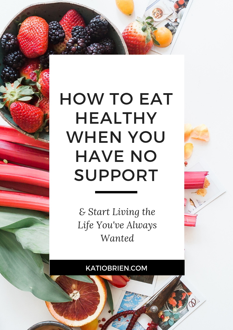 0290d02d45bf How to Eat Healthy When You Have No Support — Kati O Brien