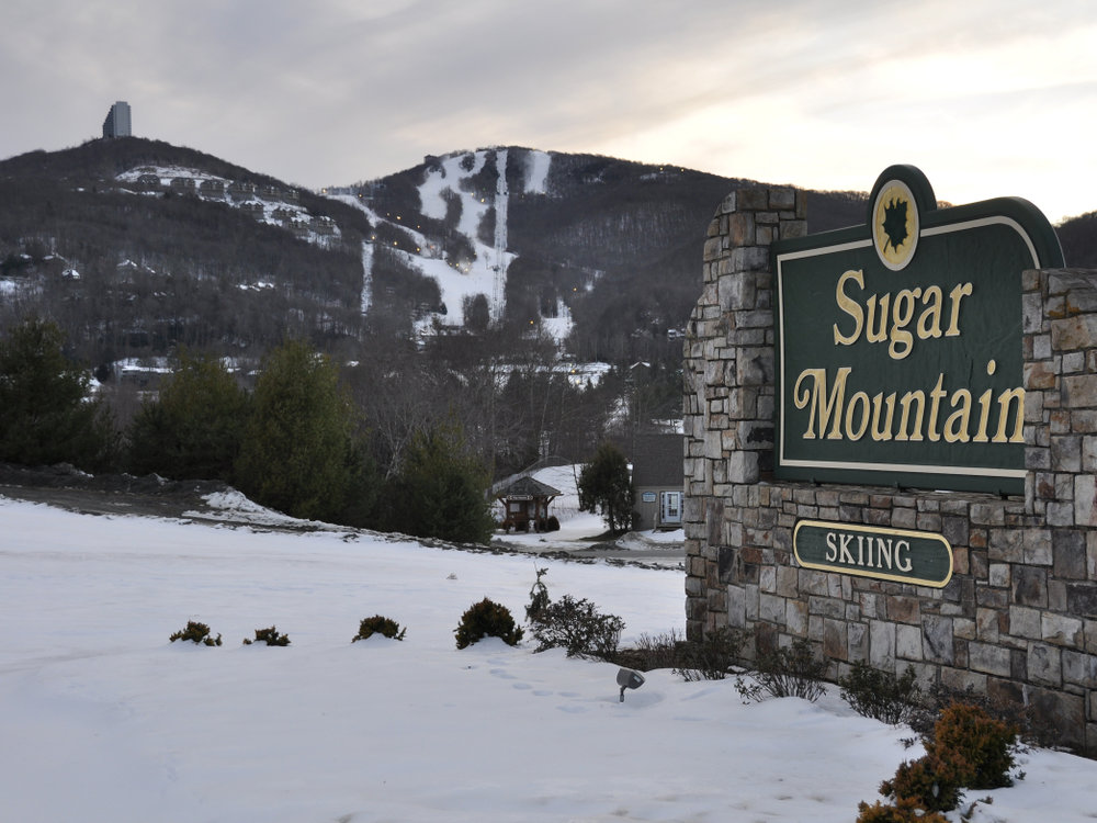 Sugar Mountain's Street Resurfacing