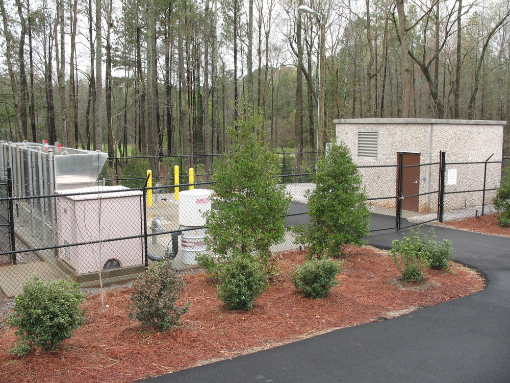Cary's Force Main and Pump Station