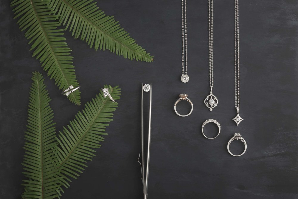 Product Photography of Beautiful Jewelry Taken By the Professional Product Photographers at Harper Point.